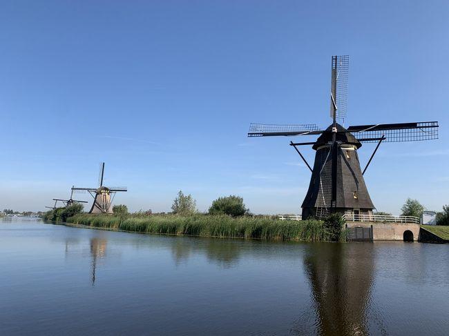 5日目。<br />朝にブリュッセルを出発し、キンデルダイク、デルフト、デン・ハーグに立ち寄りながらアムステルダムへ。アムステルダム近郊で渋滞にはまった。