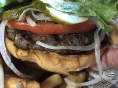 【ハワイ旅行】Teddy's Bigger Burgersでガッツリお肉/サンセットとHiltonの花火【DAY1 Part3】