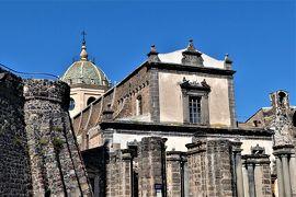 魅惑のシチリア×プーリア♪ Vol.464 ☆アドラーノ:初代の大聖堂の遺構と現在の大聖堂の競演♪