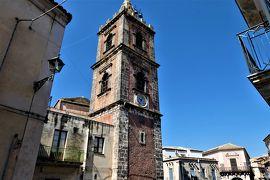 魅惑のシチリア×プーリア♪ Vol.466 ☆アドラーノ:ピンク色のカンパニーレのあるサンピエトロ教会♪