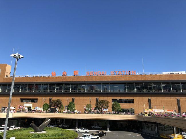 旅行2日目は仙台に移動です。<br />どうせ市内だけなので山形2日間はちょっとつまらないかもと言うのと、JALのフライトスケジュールがちょっと遅かったって言うのもあって最寄りの空港のある仙台へオープンジョーです。<br />仙台もほぼ行った記憶の無い街ですし、成田着はちょっと不便ではありますがフライトスケジュールは結構良いタイミング。<br />おまけにIBEXのCRJにもちょっと乗ってみたかったのでちょうど良いんじゃないかと?<br />後は大きさはさておき山形空港じゃ航空会社のラウンジ無いですからね。<br />またもや先にルートを決めて仙台は行き当たりばったりで楽しんでみようと言う事になりました。<br />今回のスケジュールはこんな感じ<br />9/8  NH3134(FW34便コードシェア)(SDJ-NRT)  17:30~18:30<br />実質半日の短い滞在ですがどんだけ楽しめるものやら?<br />それでは旅行記スタートです!