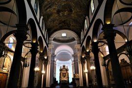 魅惑のシチリア×プーリア♪ Vol.474 ☆ランダッツォ:黒い大聖堂 聖堂内も黒と白のコントラスト♪