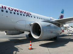 ユーロウイングス航空でウイーン⇔ニース往復