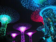 4泊5日シンガポール旅 2018~1日目~出発、マーライオン、マカンストラ・グラットンズ・ベイ、OCBCガーデン・ラプソディ
