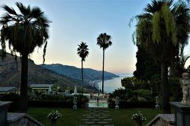魅惑のシチリア×プーリア♪ Vol.499 ☆タオルミーナ:高級ホテルの素晴らしいエントランスや庭園♪