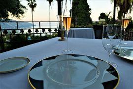 魅惑のシチリア×プーリア♪ Vol.500 ☆タオルミーナ:ミシュラン1星リストランテ「ハインツ・ベック」絶景ディナー♪