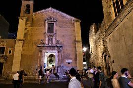 魅惑のシチリア×プーリア♪ Vol.502 ☆タオルミーナ:夜景の美しいメインストリート「Corso Umberto」♪