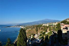 魅惑のシチリア×プーリア♪ Vol.504 ☆タオルミーナ:ジュニアスイートルームから素晴らしい朝風景♪