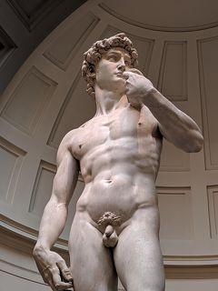 北イタリア【5】裸体彫刻とドゥオーモの曲線美★フィレンツェ 2日目
