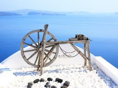 青い空・群青の海 エーゲ海での夏休み (1)憧れのサントリーニ島へ