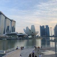 シンガポール発アジアンクルーズ (ボイジャー・オブ・ザ・シーズ) (4) マリーナベイサンズとシンガポール観光