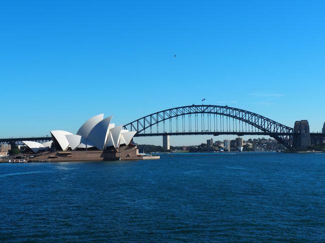 ケアンズでオーストラリアの人の優しさに触れ、他の所にも行ってみたいということでシドニーに行きました。<br />都会も自然も、思う存分楽しんだ6日間でした。<br />母との2人旅です。<br /><br /><br />■1、2日目<br />・出発<br />・ミセス・マッコーリーズ・ポイント<br />・オペラハウス<br />・市内散策<br />・I&#39;m Angus<br /><br />■フライト<br />□往路<br />・NH879 HND 22:10 - SYD 8:30(+1)<br /><br />□復路<br />・NH880 SYD 20:55 - HND 5:25(+1)<br /><br />■ホテル<br />・フォーポインツ バイ シェラトン ダーリング ハーバー シドニー(3泊)