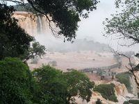 南米大陸三大絶景を巡る旅(8)ブラジル側からのイグアスの滝とヘリコプターツアー