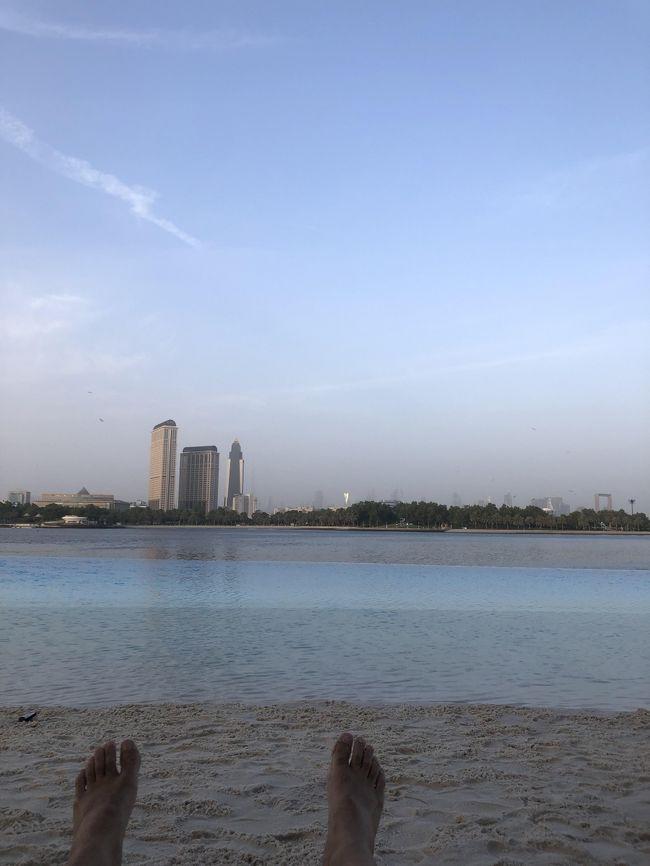 衝動的にドバイ弾丸決定。<br /><br />ANAのムンバイまでの特典航空券マイルディスカウントキャンペーンに飛びつき、ムンバイからドバイまではエミレーツの旅程。<br /><br />9/14 土    NH829 NRT-BOM Y<br />           EK503 BOM-DXB Y<br />              Hyatt Regency Dubai Creek Heights 泊<br />9/15 日 Park Hyatt Dubai 泊       <br />9/16 月 EK502 DXB-BOM Y     ★今回はここから<br />             NH830 BOM-NRT Y<br /><br />参考までに<br />NH NRT⇔BOM   諸費税   23000円<br />EK BOM⇔DXB   チケット  30000円<br />Hyatt Regency                      9500円<br />Park Hyatt                           27000円<br />              合計 89500円<br />