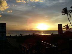 2019年サマーバケーションは9度目のハワイ島+初のマウイ島10日間(*^-^*)5日目Part4~マウイ島カマオレビーチのサンセット~!!