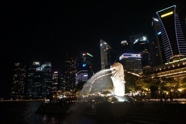 娘と行くシンガポール珍道中記3~古の水辺 to 現代ライトアート