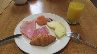 ヒルトン・シドニー エグゼクティブラウンジでの朝食