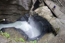 憧れのスイスアルプス5連泊【2】 雨の日におすすめ!トリュンメルバッハの滝