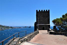 魅惑のシチリア×プーリア♪ Vol.546 ☆Aci Castello:黒いアーチ城 主塔からパノラマ♪