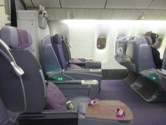 タイ国際航空 ロイヤルシルククラス クアラルンプールからバンコク