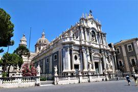 魅惑のシチリア×プーリア♪ Vol.555 ☆カターニア:バロックの美しいカターニア大聖堂♪