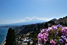 魅惑のシチリア×プーリア♪ Vol.559 ☆タオルミーナ:ジュニアスイートルームから絶景を眺めながらまどろむ♪