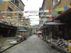 5歳娘を連れてGW四川省+重慶10日間の旅11-チャン族文化とチベット族文化が融合した水磨古鎮