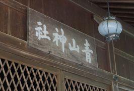 2018春、兵庫と京都の名城巡り(5/14):5月4日(5):篠山城(5):本丸跡、天守台、鳥居、青山神社