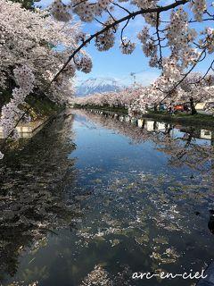 ◆父娘撮り旅◆弘前の桜&グルメ三昧4泊5日(2018)【②弘前編】