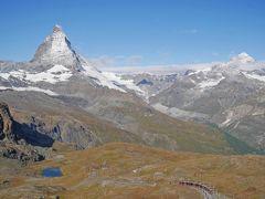 ゴルナーグラート鉄道に乗る&撮る♪マッターホルンに見守られながらのハイキング 【スイス旅行:4日目】