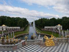 ちょっと早めの夏休みでロシア旅行 その5 ペテルゴフの噴水巡りは楽しい♪