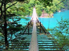 静岡~山梨ドライブ 2. 静岡市街から~ 寸又峡の『夢の吊橋』を目指します