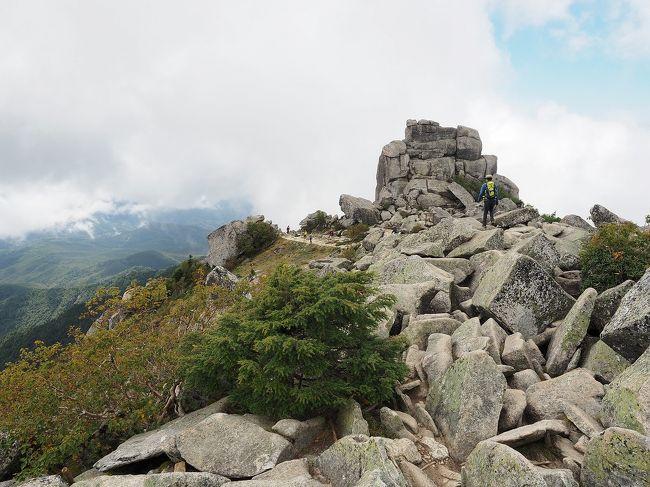 山梨お手軽絶景登山(金峰山)トラベルハイキング