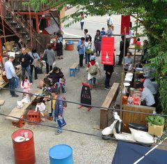 Japan こびとの小屋からはじまる楽しい旅 石田倉庫のお祭り2015