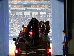 横浜スタジアムで観戦 コンデジの実力をためす
