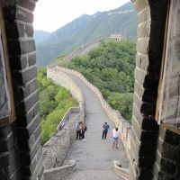 慕田峪長城(万里の長城)を30mくらい歩く旅