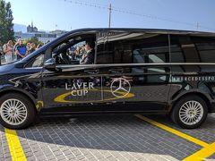 なぜだかスイス 10、のやっと会えた? まさかのニアミス接近遭遇  Laver Cup 2日目