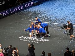 なぜだかスイス 11   We're Roger's fans from all over the world♪ Laver Cup最終日