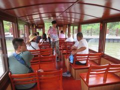 遊覧船乗り場ではチケットは売ってなかった♪きちんと距離が書いてある案内標識♪西渓国家湿地公園2019年9月中国 杭州7泊8日(個人旅行)15