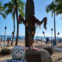 うん十年ぶりのハワイ & 初アウラニ ④ ~ワイキキ観光はまったりと~