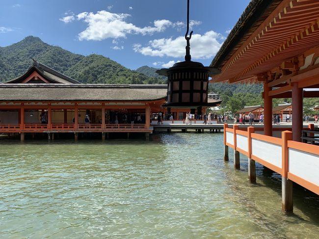 ダイヤモンド・プリンセス10日間の旅は、最後に日本三景 安芸の宮島を訪ねます。<br />大鳥居は修復作業中でしたが、厳島神社と参道は大観光地の風格十分で、日本を旅する喜びを感じました。<br />今回、初めて御朱印帳を手にしたので、今後が楽しみです。<br />船は横浜に戻りましたが、最後はロス(喪失感)を感じました。