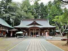 中尊寺と駒形神社
