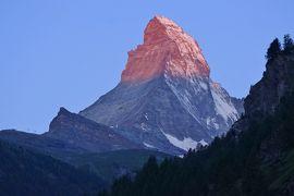 スイス3大明峰とロマンティック街道の旅 5.ツェルマット&ゴルナーグラートから見るマッターホルン