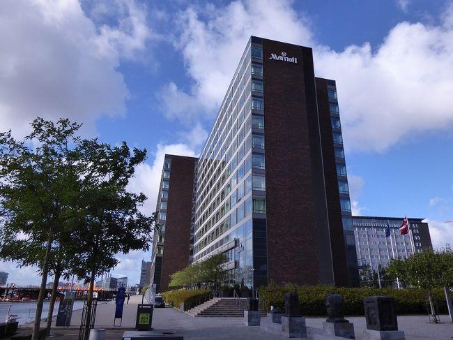 飛行機の都合でコペンハーゲンで1泊しました。<br /><br />今回はコペンハーゲン中央駅至近の<br />川沿いの見晴らしの良い高層ホテル。<br />Marriott Copenhageに宿泊しました。<br /><br />今回は帰国までをアップします。<br /><br />