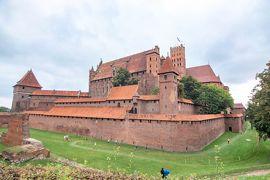 初めてのポーランド その2 世界遺産マルボルク城