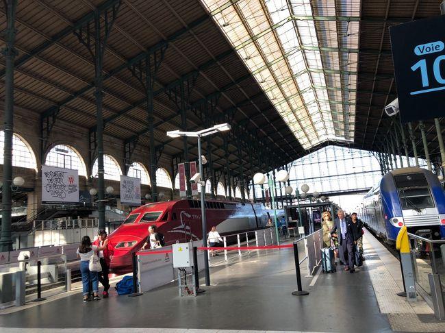 ドイツ、ケルンからパリへとやってきました。<br />パリは見どころ満載。毎日2.5万歩から3万歩歩きました。<br />スニーカーの消耗がハンパない。<br />