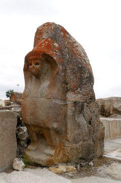 2019.8トルコの知人を訪ねる14-Alacahoyuk(アラジャホユック)遺跡