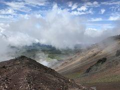 大雪・旭岳登山 のあと旭岳温泉に一泊しました