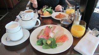インターコンチネンタルホテル・シドニー  クラブラウンジの朝食