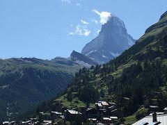スイス アルプスの絶景とパリ、ウィーン観光18日間④-1 パリからツェルマットへ